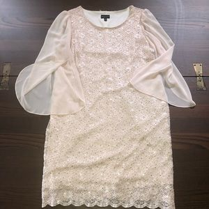 Connected Apparel Sequin Dress